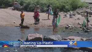 Volunteers Reducing Plastic Pollution Along South Platte [Video]