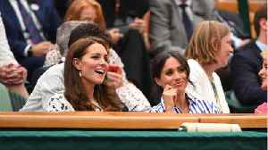 News video: Meghan Markle & Kate Middleton Make First Solo Appearance Together