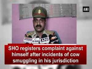 SHO registers complaint against himself after incidents of cow smuggling in his jurisdiction [Video]