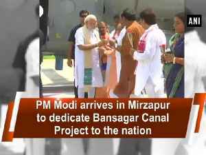 PM Modi arrives in Mirzapur to dedicate Bansagar Canal Project to the nation [Video]