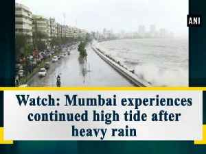 Watch: Mumbai experiences continued high tide after heavy rain [Video]