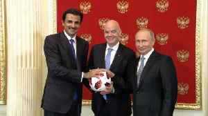 Russia hands over World Cup hosting duties to Qatar [Video]