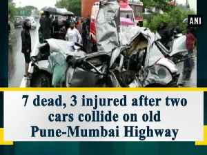 7 dead, 3 injured after two cars collide on old Pune-Mumbai Highway [Video]