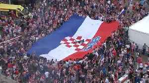 Proud Croatia fans weep, then party after World Cup loss to France [Video]