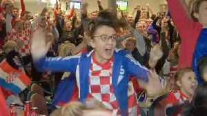 Croatian fans in Sydney proud of team but mourn World Cup defeat [Video]