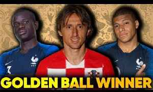 Luka Modric Is The BEST Player At The World Cup Because... | France vs Croatia | #SundayVibes [Video]