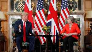 UK PM May Says Donald Trump Told Her to Sue the EU Over Brexit