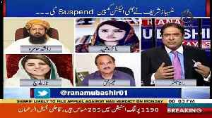 Are You In Touch With Maryam Nawaz -Rana Mubashir To Maiza Hameed [Video]