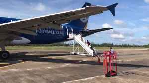Leicester City FC Livery AirAsia Airbus A320 [Video]
