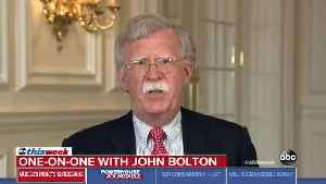 ABC's Jon Karl Confronts Bolton Over White House Pulling His CNN Interview [Video]