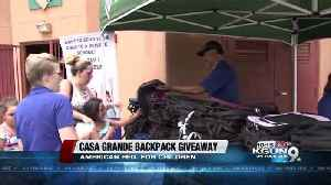 Free backpacks handed out to 100 students in Casa Grande [Video]