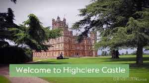 Tour of the Real Downton Abbey, Highclere Castle [Video]