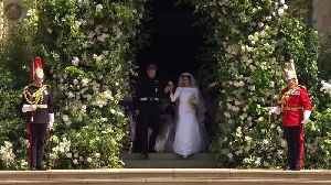 Philippa Craddock on creating the flowers for the royal wedding [Video]