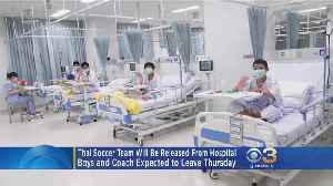 Thai Soccer Team Expected To Leave Hospital Thursday [Video]