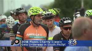 Flyers Charity Classic Gets Underway In South Philly [Video]