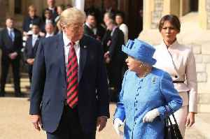 Prince Charles and Prince William 'snubbed' Trump during his Queen visit [Video]