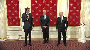 News video: Russia hands over World Cup hosting duties to Qatar