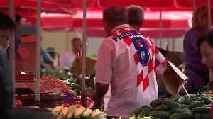 Croatians prepare for historic World Cup final between Croatia and France [Video]