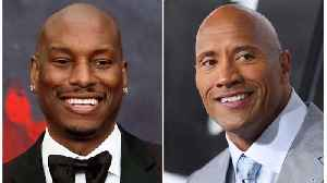 The Rock Talks About Beef With Tyrese [Video]