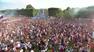 France fans in Paris celebrate World Cup victory [Video]