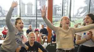 News video: WATCH: France nationals watch their team defeat of Croatia 4-2 in World Cup Soccer