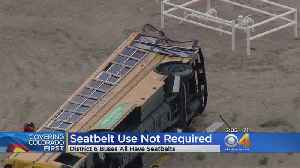 More Bus Crash Victims Released; Officials Discuss Seat Belt Requirements [Video]