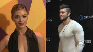 Tim Tebow and Demi-Leigh Nel-Peters Are Dating [Video]