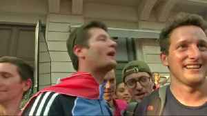 News video: France fans go wild after World Cup win