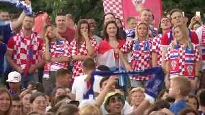 Moscow fan zone erupts as France wins World Cup [Video]