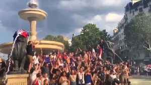 France fans celebrate World Cup victory in Paris, Nantes, and Guadeloupe [Video]