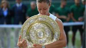News video: Angelique Kerber Defeated Serena Williams In The Wimbledon Final