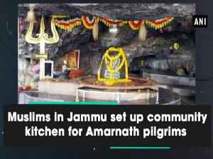 Muslims in Jammu set up community kitchen for Amarnath pilgrims [Video]