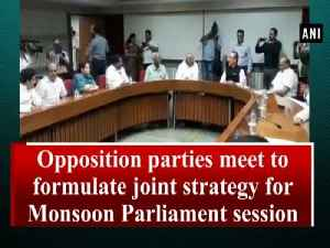 Opposition parties meet to formulate joint strategy for Monsoon Parliament session [Video]