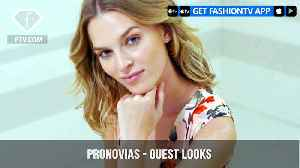 Pronovias Presents a Perfect Collection for Wedding Guest Looks | FashionTV | FTV [Video]