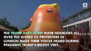 Trump Baby Blimp Is Heading to America [Video]