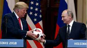 Putin Gifts Trump A Ball [Video]