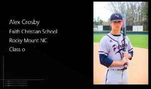 Alex Crosby Baseball [Video]