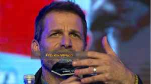 Zack Snyder Skipping This Years Comic Con [Video]