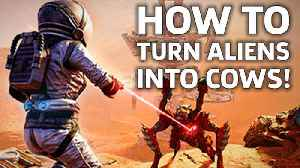 Far Cry 5 Has A Gun That Turns Aliens Into Exploding Cows In The Lost On Mars DLC [Video]