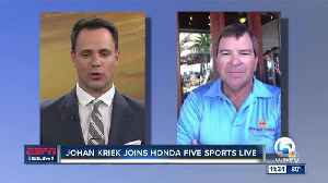 Johan Kriek joins Honda Five Sports Live to talk Wimbledon [Video]