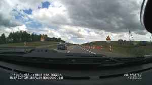 Car Flips Multiple Times on Russian Highway [Video]