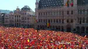 Belgium Red Devils receive hero's welcome after World Cup performance [Video]