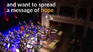 With a message of hope, Syrian refugees open Polish music festival [Video]
