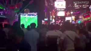 Watching The World Cup 2018 In Pattaya [Video]