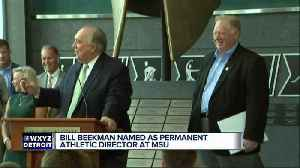 Bill Beekman officially named Michigan State's new athletic director [Video]