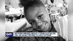 Mother of 7-year-old killed crossing I-94 says, 'She would help anybody' [Video]