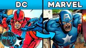 Top 10 Characters DC Stole from Marvel [Video]