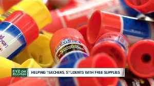 As teachers buy more and more supplies for their classrooms, stores offer helping hand [Video]