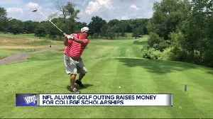 NFL alumni golf outing raises money for college scholarships [Video]