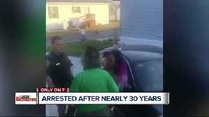 Man arrested in bed on 1989 car theft warrant while daughter broadcast it on Facebook [Video]